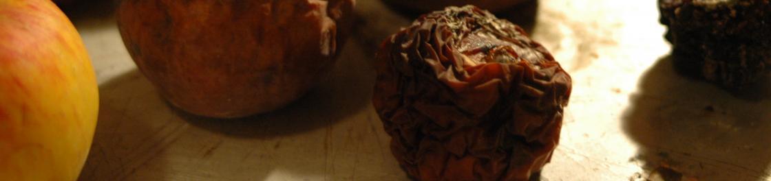 Überreife Äpfel